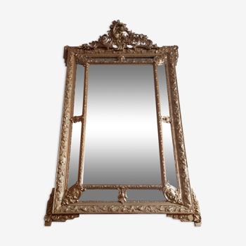 Miroir à parcloses style Louis XV  100x170cm