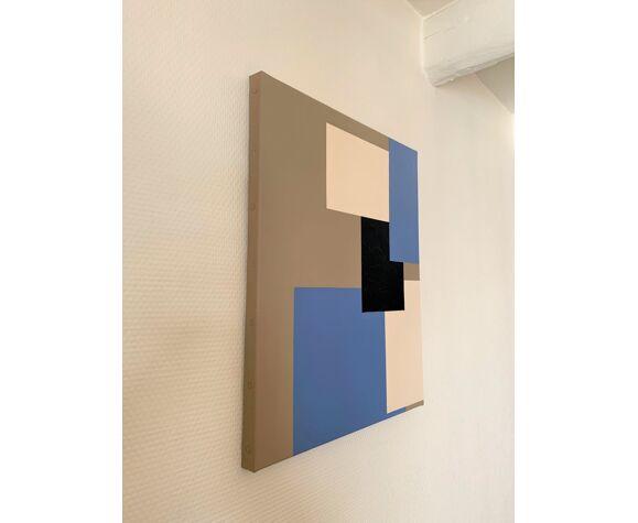 Déconstruction n°2 - acrylique sur toile