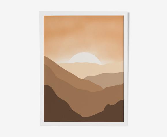 """Illustration """"Soleil d'été"""" par Noums Atelier"""