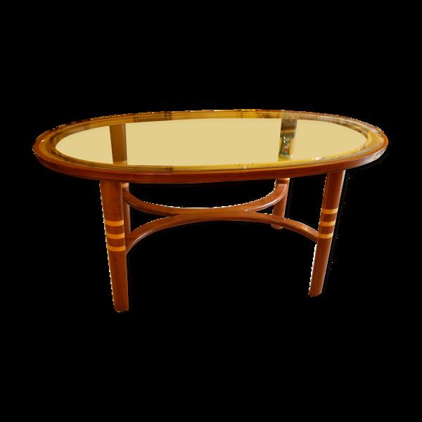 Table à manger ovale style Art Déco