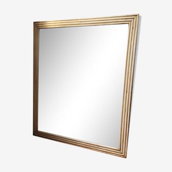 Miroir mercure à canaux XIXème 76x93CM