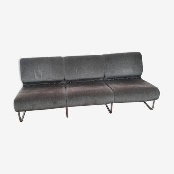 Tubular bench fabric design