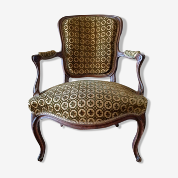 Convertible armchair Louis XV style