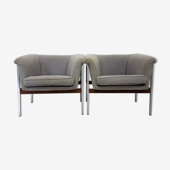 Lot de 2 fauteuils 040 de Geoffrey Harcourt pour Artifort, Pays-Bas, années 1960