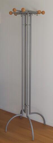 Portemanteau en bois et métal