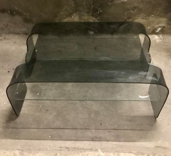 Table basse verre