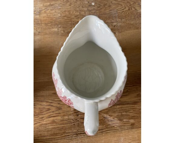 Lot de 2 pièces service à café ou à thé Adams, English Scenic, porcelaine Anglaise