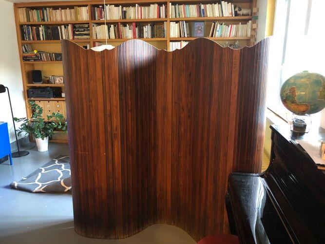Paravent en bois 1950