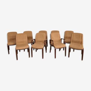 Lot 9 chaises knool de «Bill Stephens» – 1967