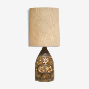 Georges Pelletier ceramic lamp