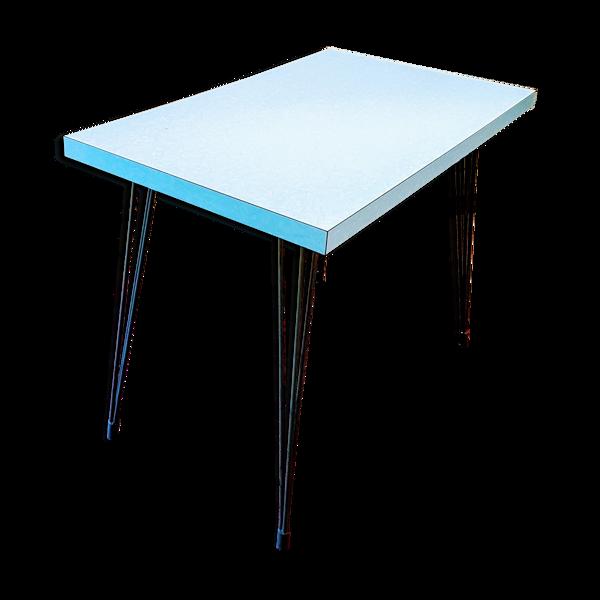 Selency Table en formica pied eiffel