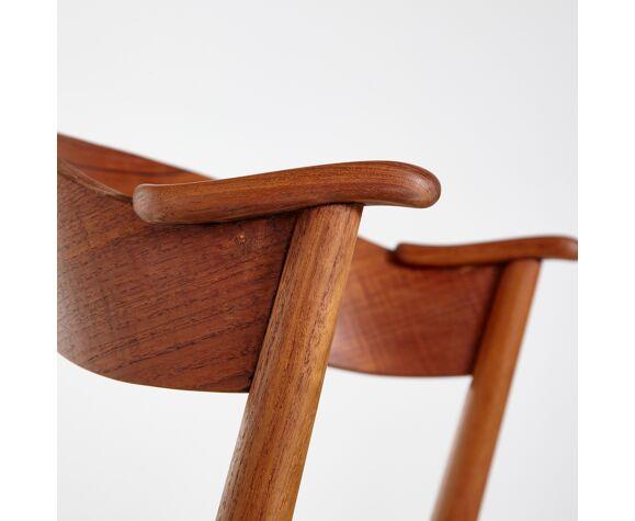 Modèle 32 chaise à manger en teck par kai kristiansen