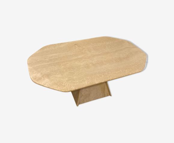 Table de travertin