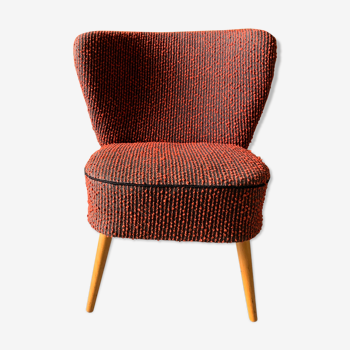 Red and black cocktail chair