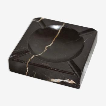 Cendrier en marbre noir