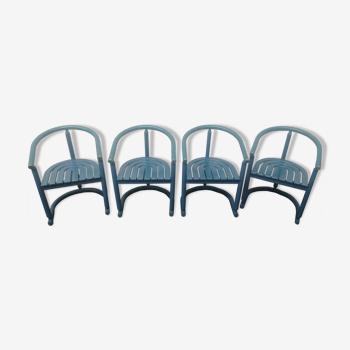 4 chaises années 1970