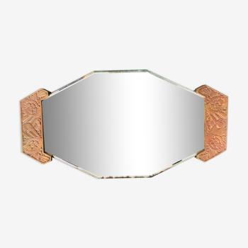 Miroir ancien Art Nouveau