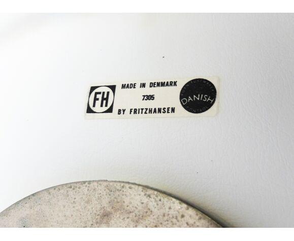 Chaise de bureau modèle 3117 par Arne Jacobsen pour Fritz Hansen, 1973