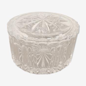 Round glass box