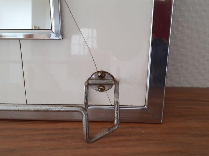 Miroir de salle de bain années 50/60