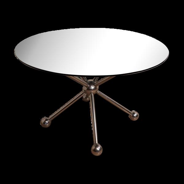 Selency Table de repas space age atomique sputnik vers 1980