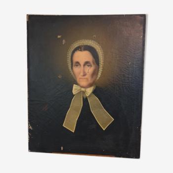 Portrait Femme XIXème