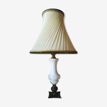 Lampe classique en marbre