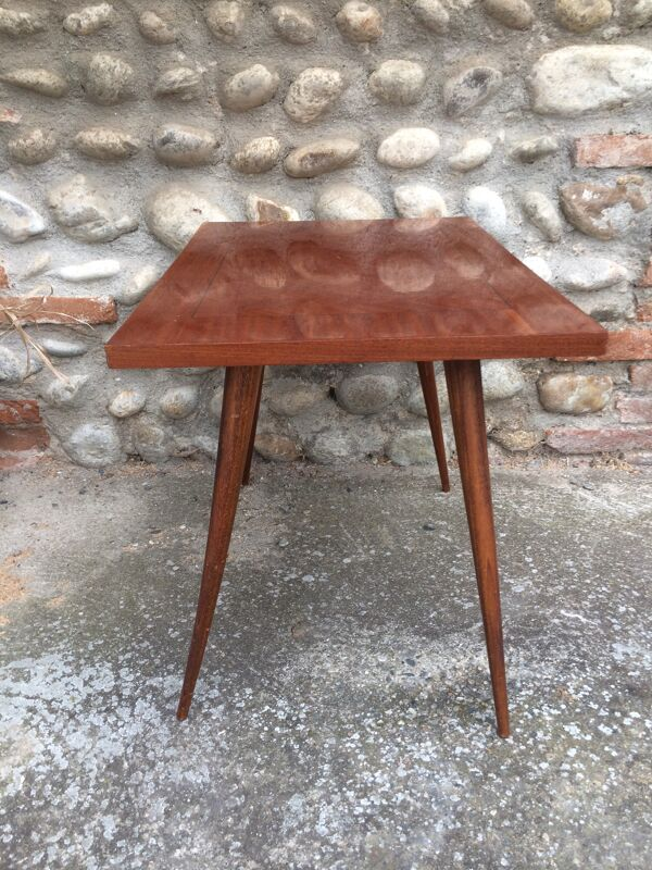 Table basse marqueterie