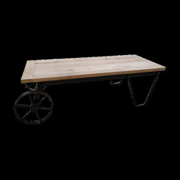 Selency Table basse industriel