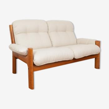 Mid-century norwegian teak sofa from Ekornes, 1970s