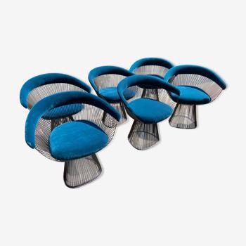 Lot of 6 chairs Waren Platner - 2020