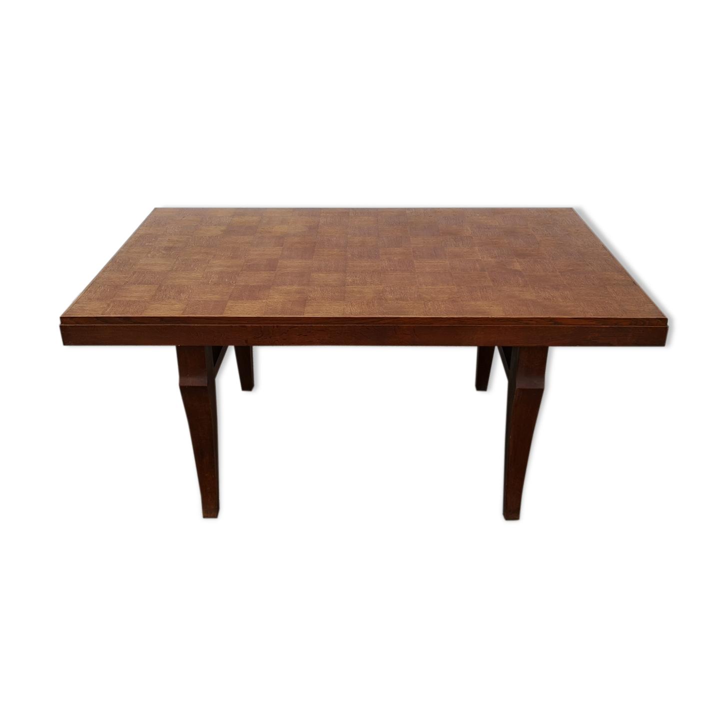 Table bureau chêne