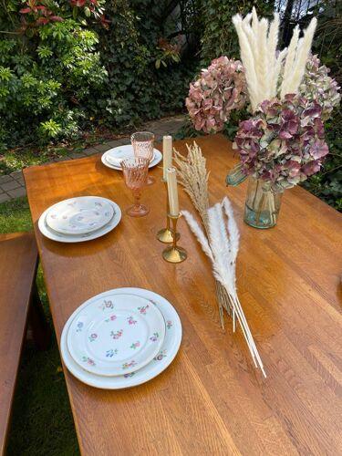Table de ferme en chêne vintage 220cm