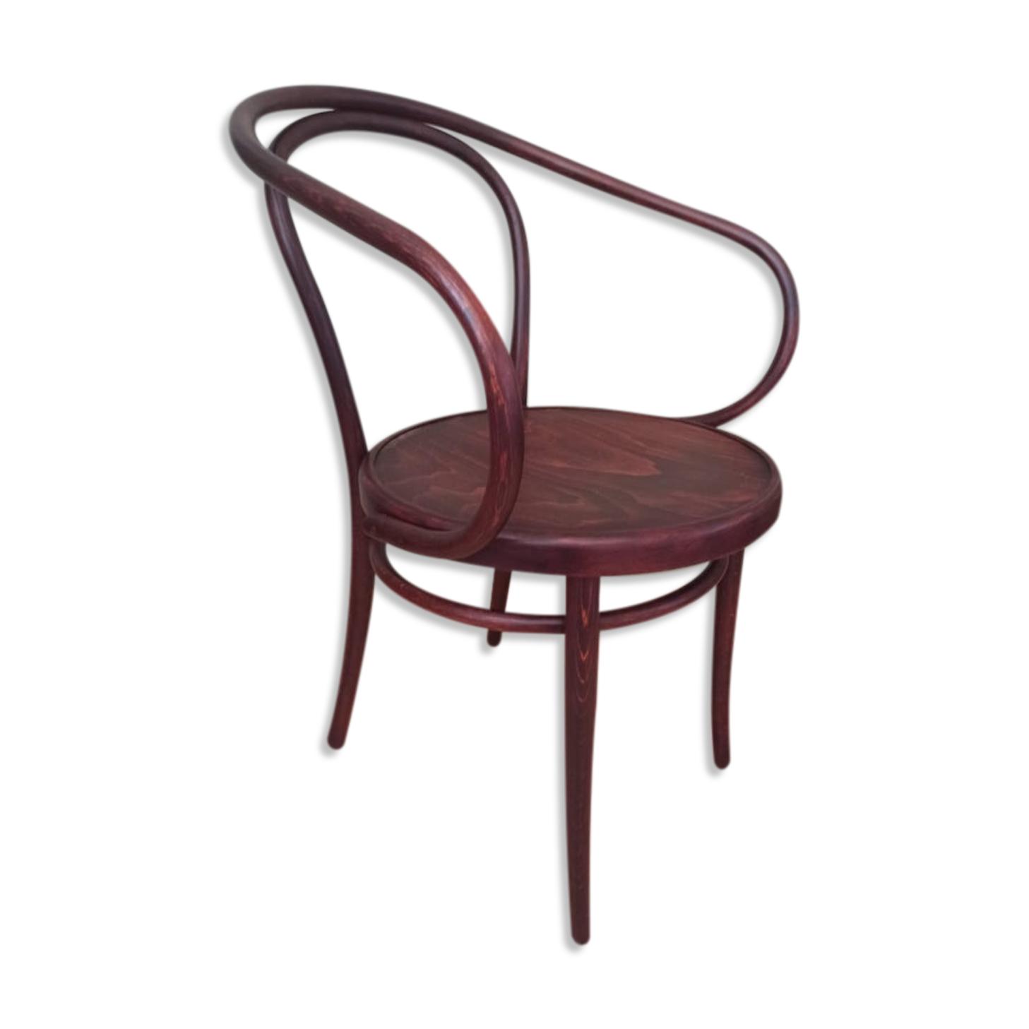 Chaise en bois, Thonet produit par ZPM Radomsko années 1950