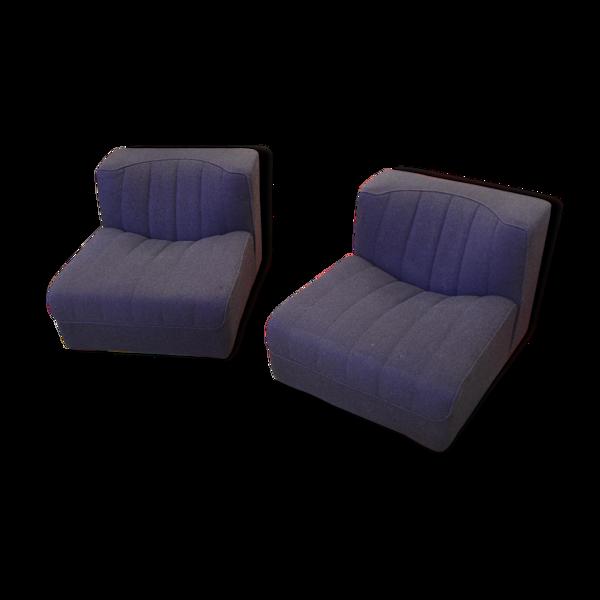 Selency Paire de fauteuils années 60