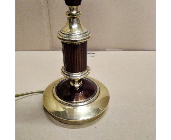 Lampe métal 1970