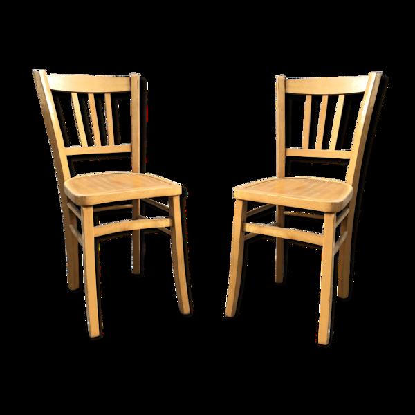 Paire de chaise bistrot Luterma