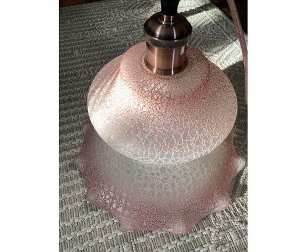 Suspension en verre de Murano vintage