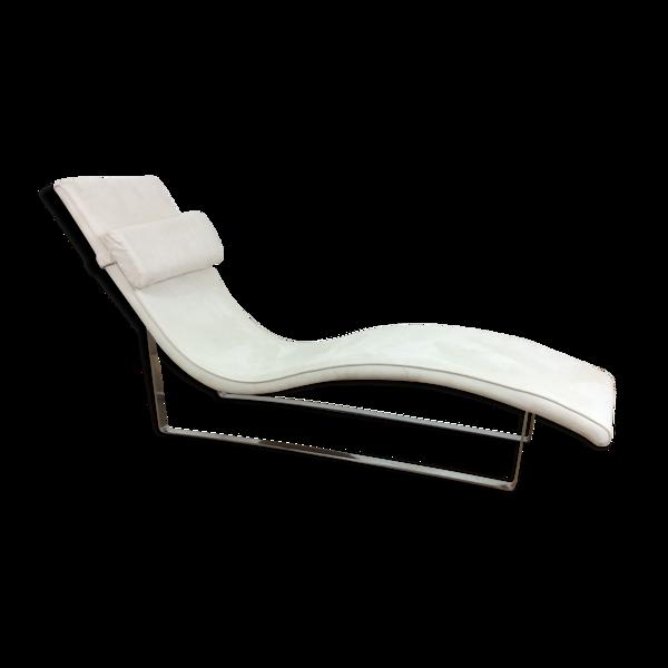 Chaise longue italienne du milieu du siècle