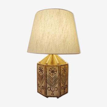 Lampe par Roger Capron
