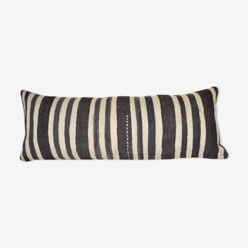 Housse de coussin kilim en laine de bohême