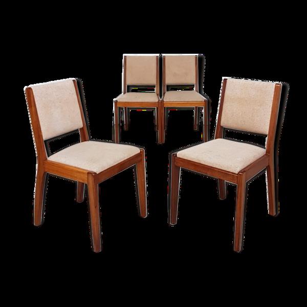 Selency 4 chaises par Younger 1950