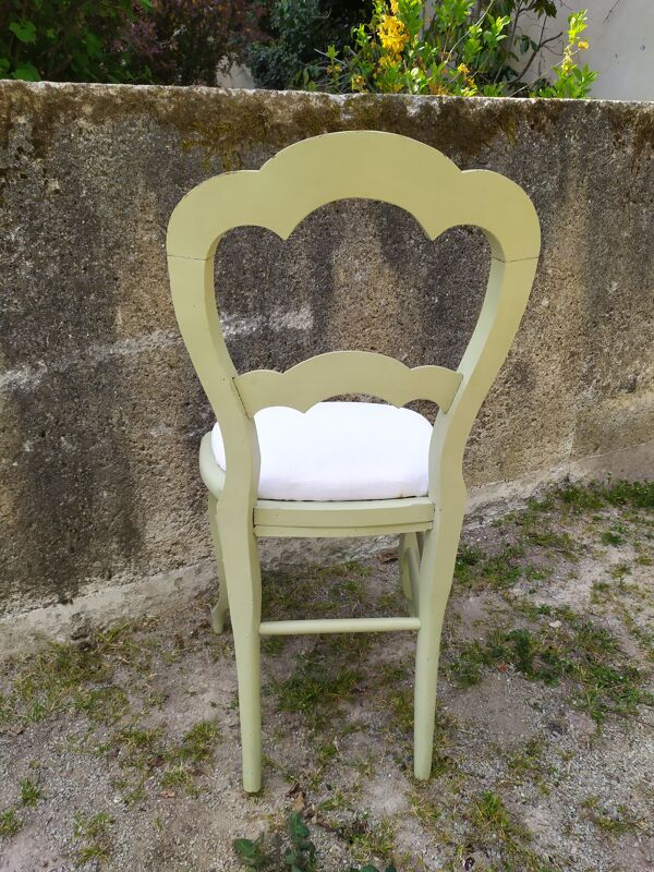 Chaise style Louis XV