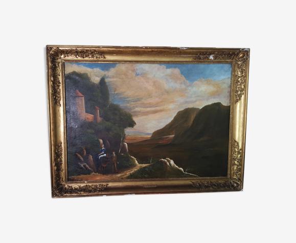 Peinture 19eme école autrichienne