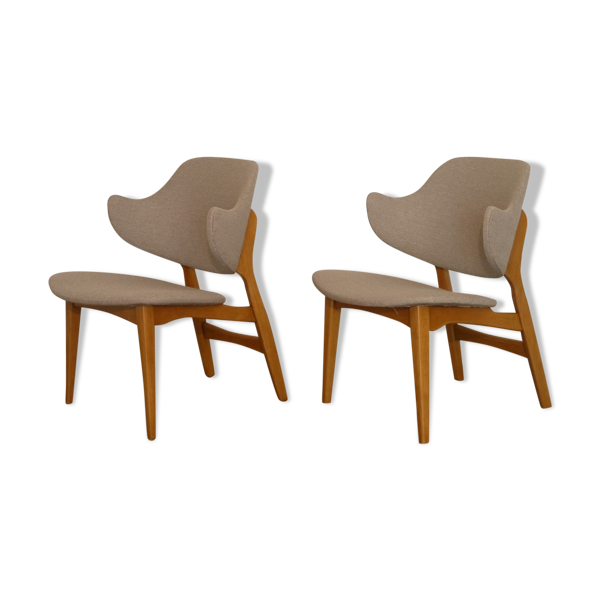 Paire de fauteuils scandinave 1960