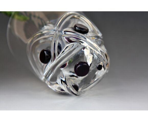 Verre à whisky en cristal de Lalique modèle Floride