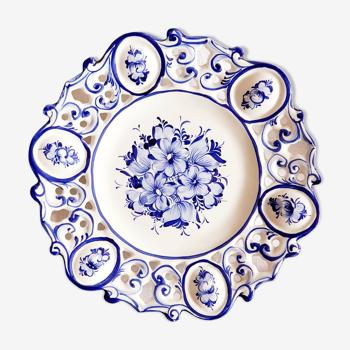 Assiette murale Portugal bleu