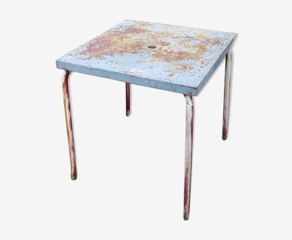 Table de terrasse en métal Tolix 1950
