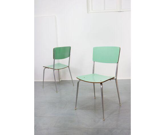 Ensemble de 6 chaises à manger du milieu du siècle