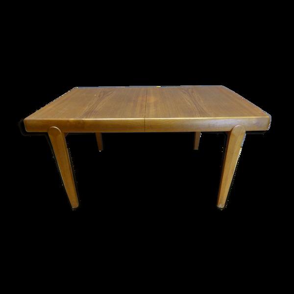 Table à repas en teck Vamo Sonderborg années 60